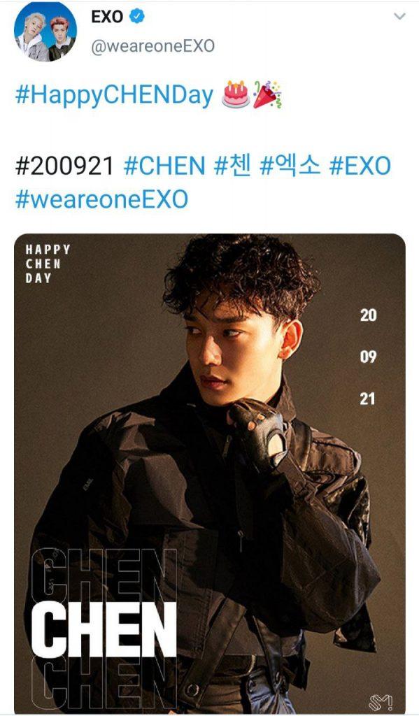 exo chen birthday