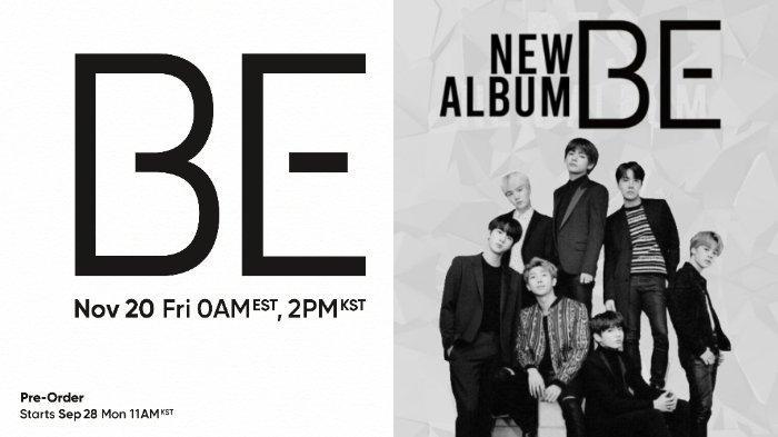 BTS Album Be Realesed