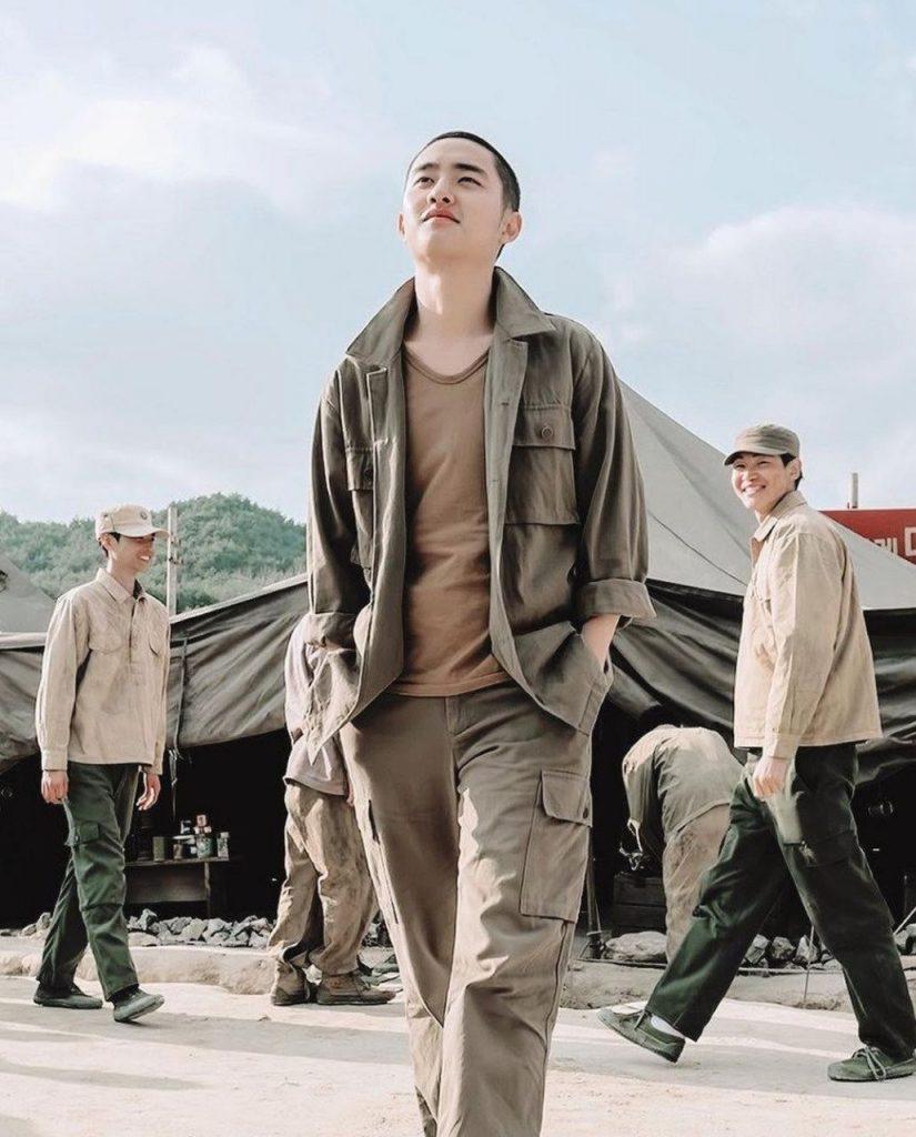 EXO Do Kyongsoo Drama and movie