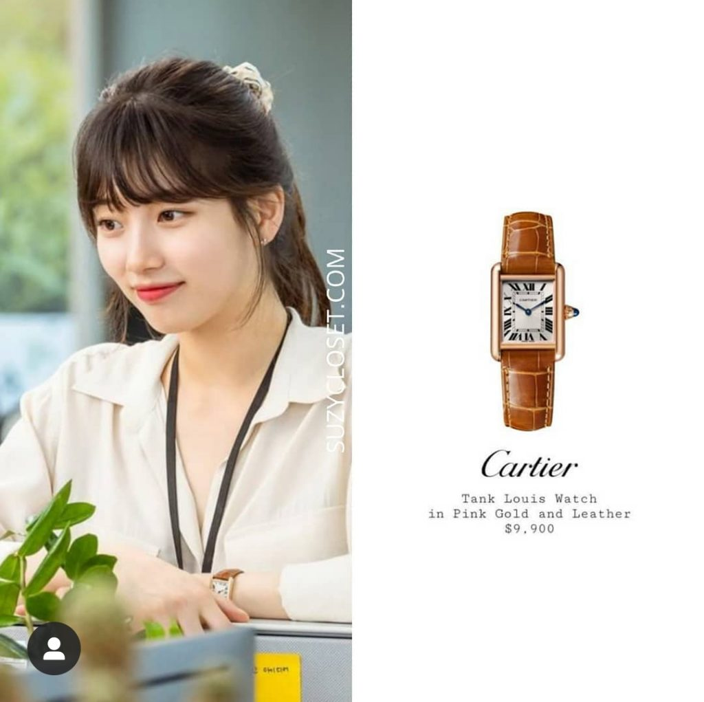 bae suzy's Tank Louise Watch