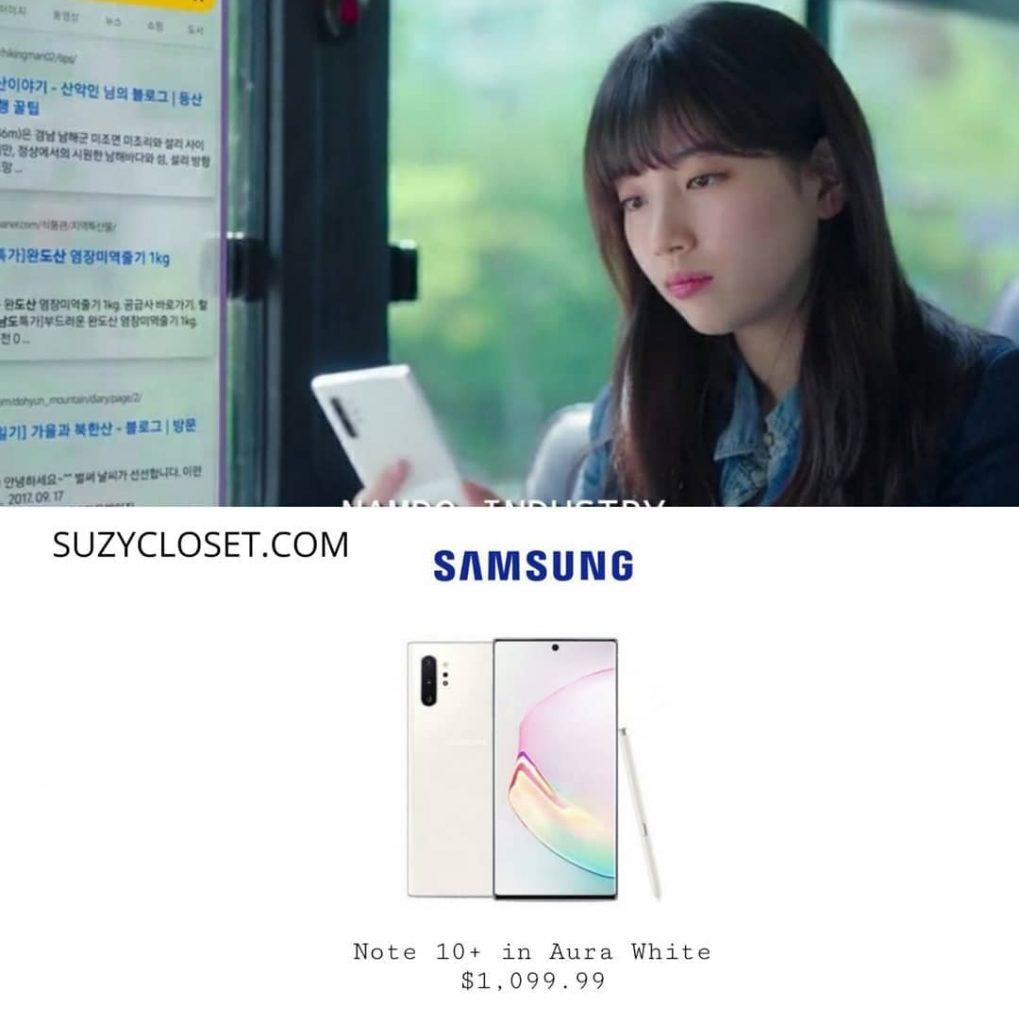 bae suzy's Samsung Note 10