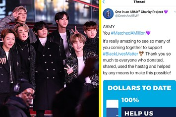 bts army black lives matters