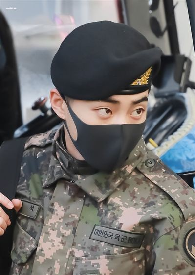 EXO's Xiumin Early Discharge from the Military