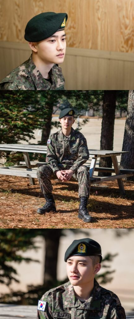 """EXO's D.O Interview for """"Proud Soldier"""" Challenge"""