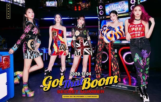 """Secret Number's Comeback with """"Got that Boom"""""""