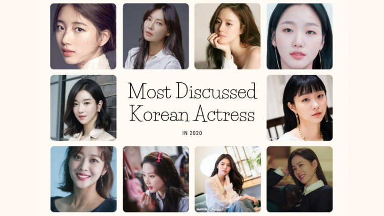 Most Discussed Korean Actress
