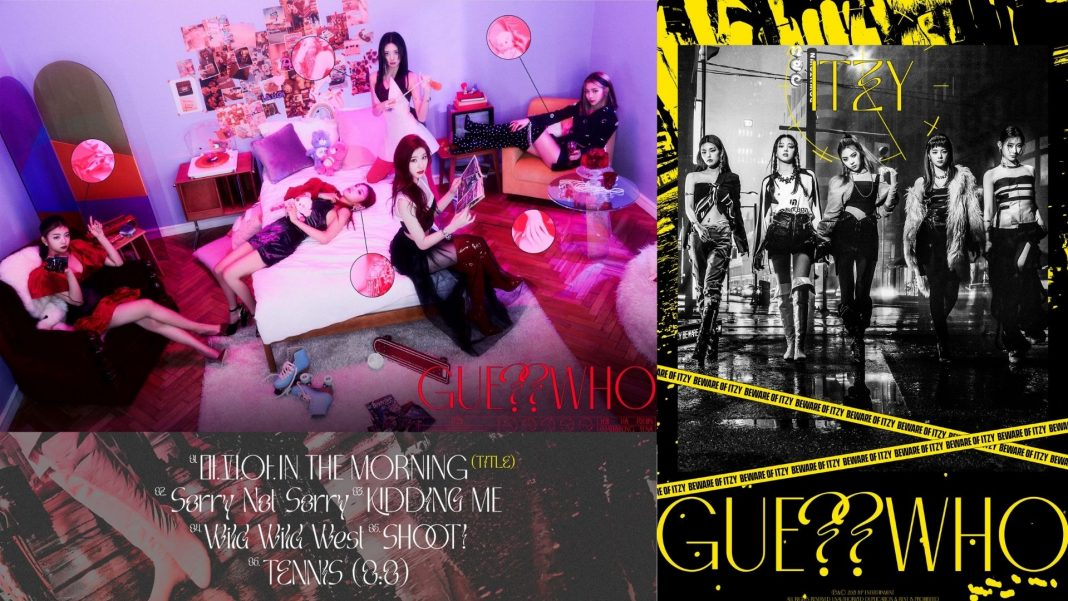 "ITZY Drops Teasers for ""Guess Who"" in Day and Night Concept"