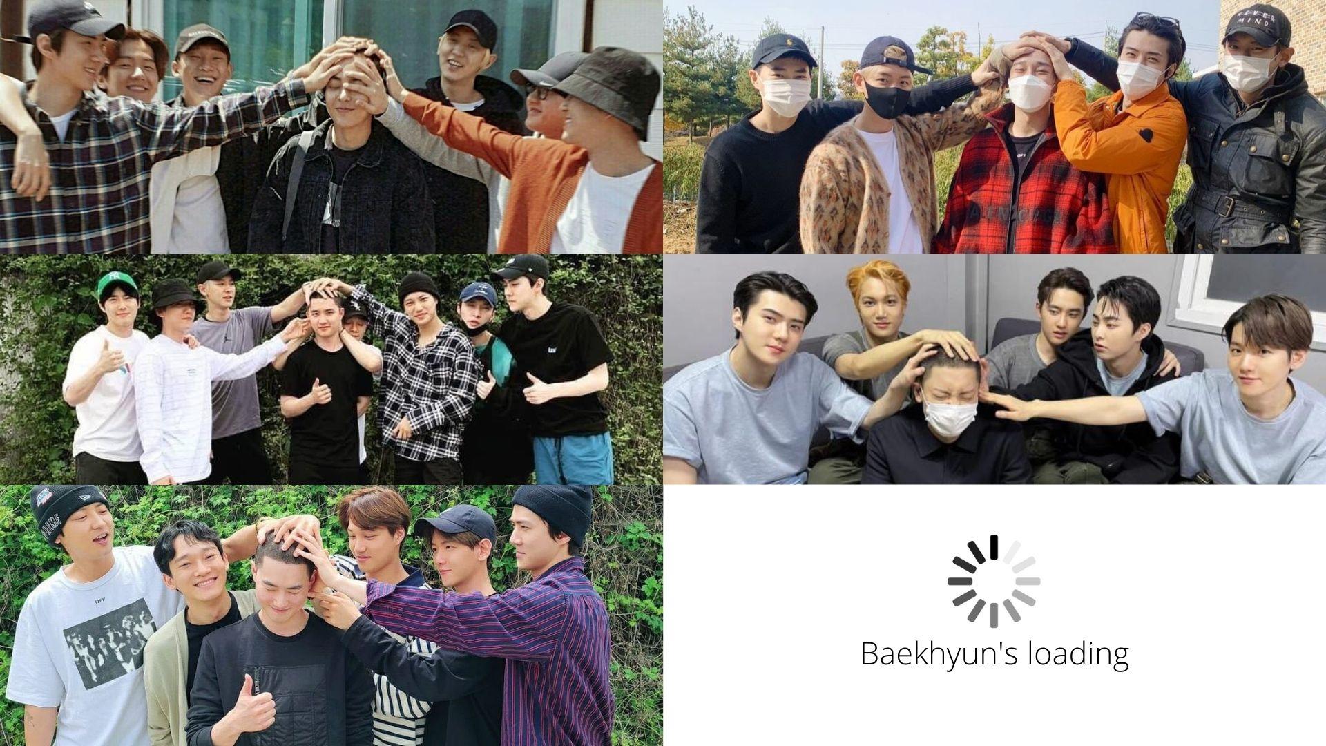 EXO's Baekhyun Enlists on His Birthday