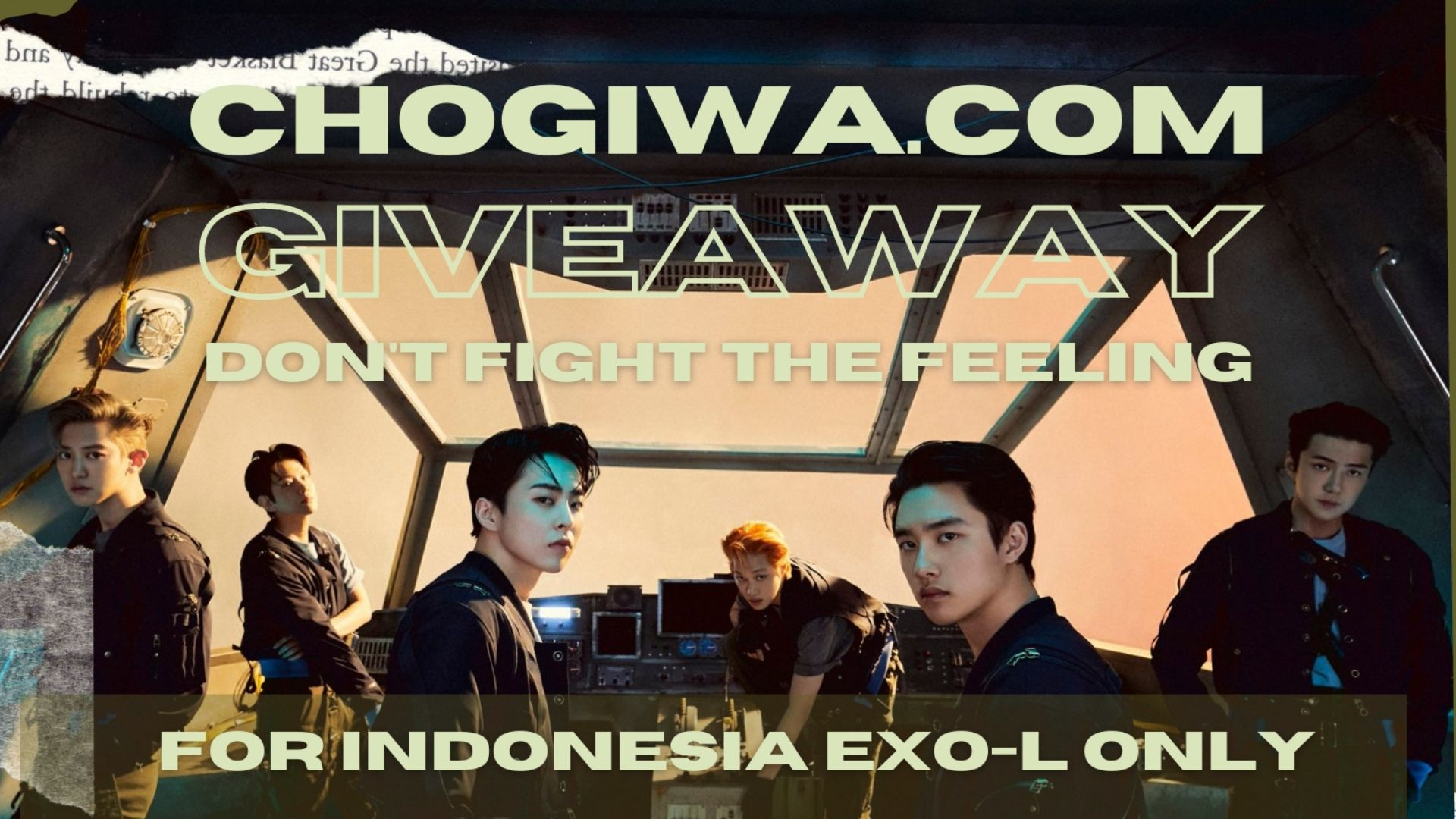 """Giveaway EXO Album """"Don't Fight the Feeling"""" for Indonesia EXO-L Only"""
