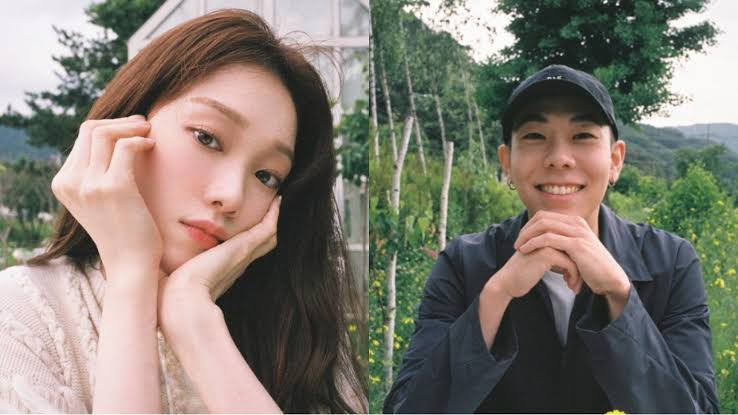 """Lee Sung Kyung feat Loco in """"LOVE"""""""